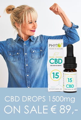 Boost Yourself with CBD Drops 1500mg