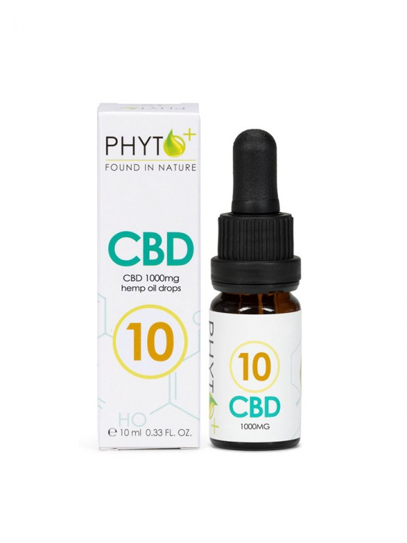 CBD Oil 10% Drops - 1000mg