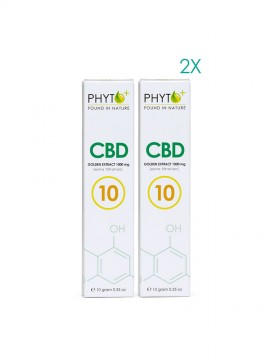 2 pack CBD Broad Spectrum Extract 10% - 20 grams total